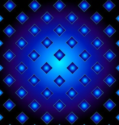 Blue metal grid background vector