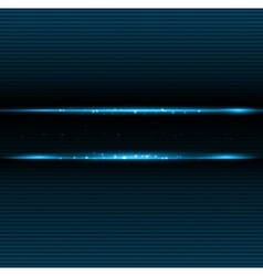 Abstract dark background with blue color light vector