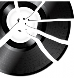 Broken record vector