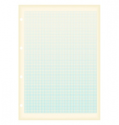 Graph paper squares vector