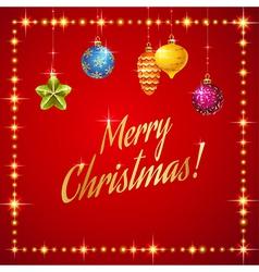 Flash merry christmas vector