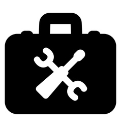 Toolbox icon vector