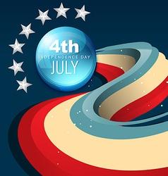 July 4th america vector