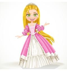 Cute princess vector