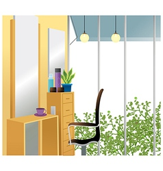 Beauty salon background vector