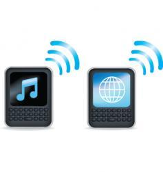 Music internet vector