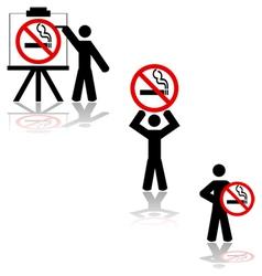 No smoking vector