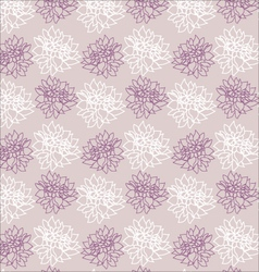 Elegance pattern with floral background vector