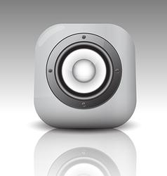 Audio speaker3 vector