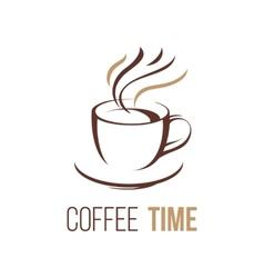 Coffee lofo template vector