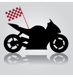 Motorbike abstraction eps10 vector