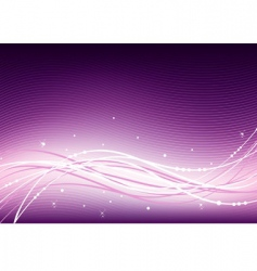 Abstract pink vector