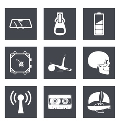 Icons for web design and mobile applications set 3 vector