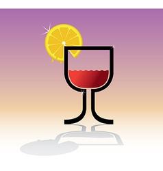 Drink theme vector