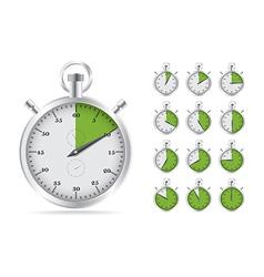 Stopwatch vector