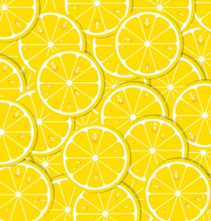 Lemon slices vector