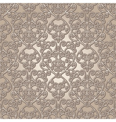 Vintage lattice pattern vector