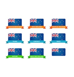 Tour to new zealand vector