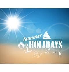 Summer poster vector