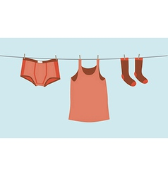 Mens underwear vector