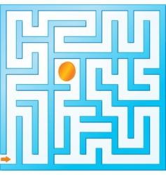 Small maze vector