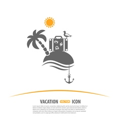 Tourism and vacation logo vector