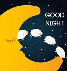 Sweet dreams design vector