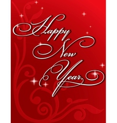 2013 paper folding with letter happy new year vector
