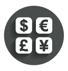 Currency exchange sign icon currency converter vector