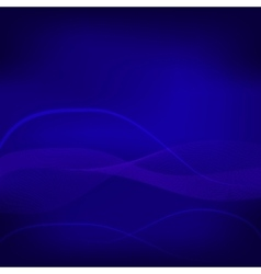 Dark blue mystic purple wave abstract background vector