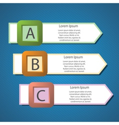 Info graphics arrows structure vector