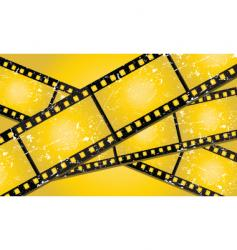 Grunge filmstrips vector