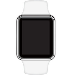 Isolated image of smart watch vector