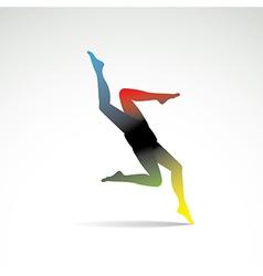 Abstract women legs vector