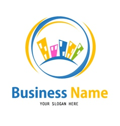 Business house icon design vector