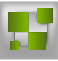 Business squares light green vector