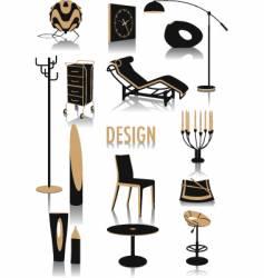 Design silhouettes vector