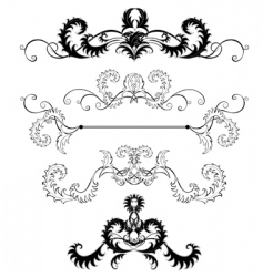 Decoration pages vector