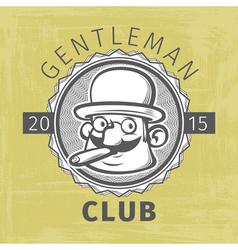 Gentleman logo vector