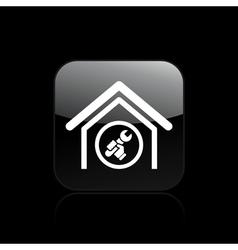 Adjust home icon vector