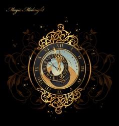 Magic midnight vector