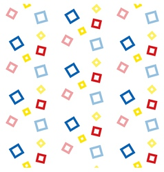 Seamless geometric pattern background vector