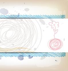 Art banner design vector