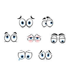 Cartoon eyes vector