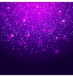 Abstract magic bokeh background vector