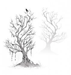 Dead trees vector