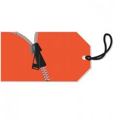 Zip opening vector