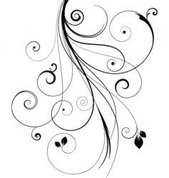 Decorative design vector