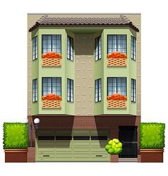 A big commercial property vector