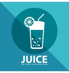 Juice icon vector